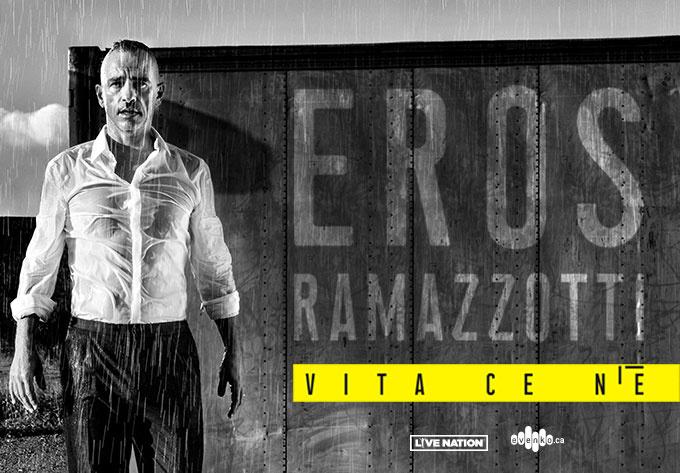 Eros Ramazzotti - June 13, 2019, Laval