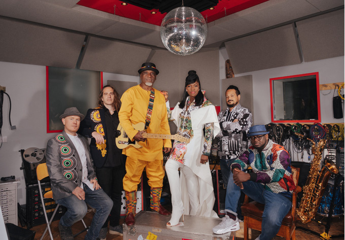 Ibibio Sound Machine - 22 mars 2019, Montréal