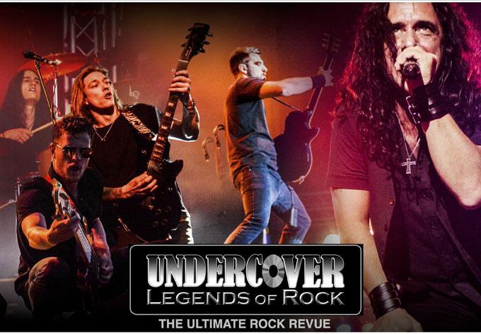 Undercover : Legends of Rock - 5 octobre 2019, Montréal