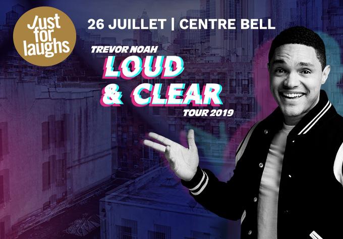 Trevor Noah - 26 juillet 2019, Montréal