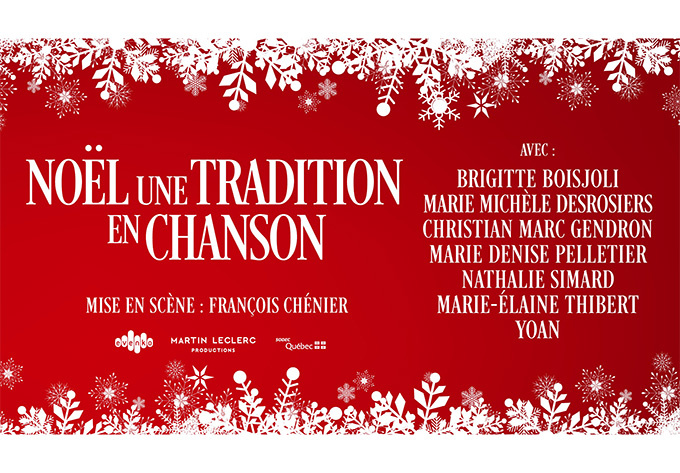 Noël, une tradition en chanson - December 10, 2019, Thetford Mines