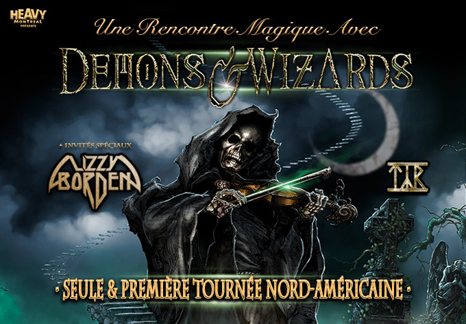 Demons & Wizards - 1 septembre 2019, Montréal
