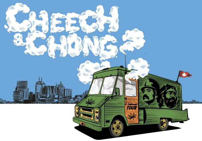 Cheech & Chong - September 23, 2019, Montreal