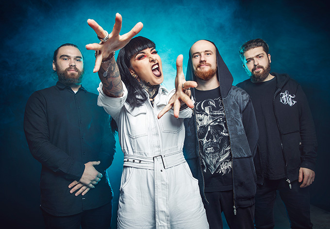Jinjer - October  6, 2019, Montreal