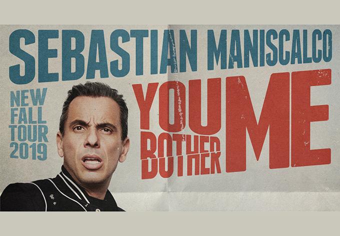 Sebastian Maniscalco (in English) show in Montreal on November 15