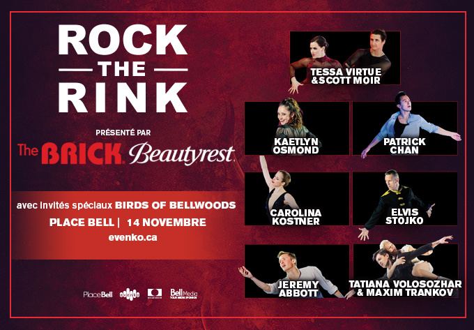 Rock the Rink - November 14, 2019, Laval