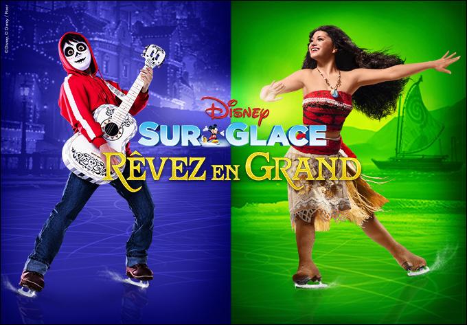 Disney sur Glace présente Rêvez en grand! - 12 octobre 2019, Laval