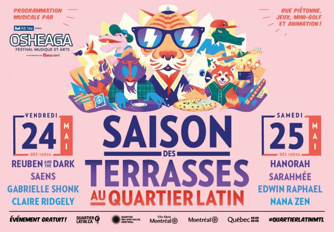 OSHEAGA X St-Denis - 24 mai 2019, Montreal