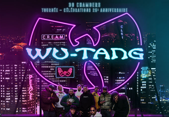 Wu-Tang Clan - July 12, 2019, Laval