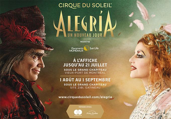 Cirque du Soleil - Alegria - 17 juillet 2019, Montréal