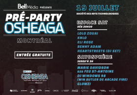 Official Osheaga Pre Party