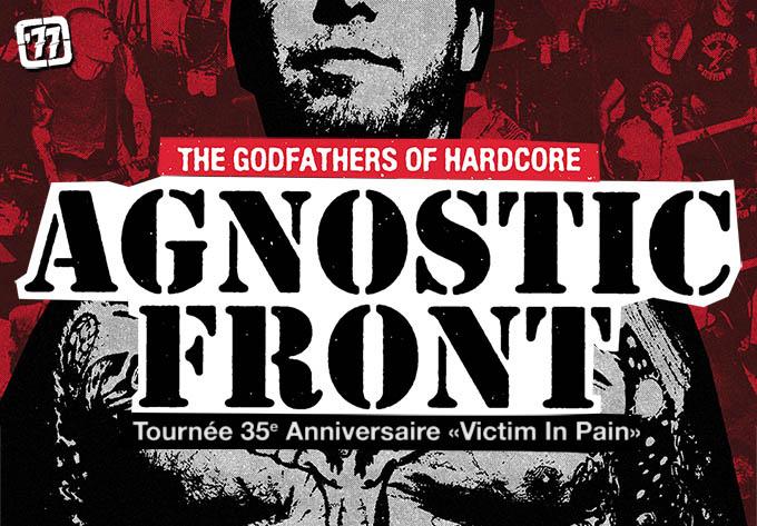 Agnostic Front - 28 septembre 2019, Montréal