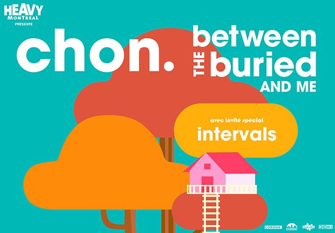 CHON + Between The Buried & Me - 26 novembre 2019, Montréal