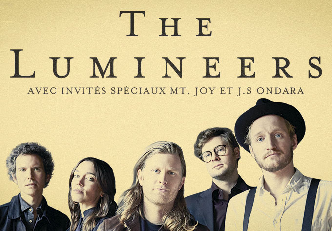 The Lumineers - 6 mars 2020, Montréal