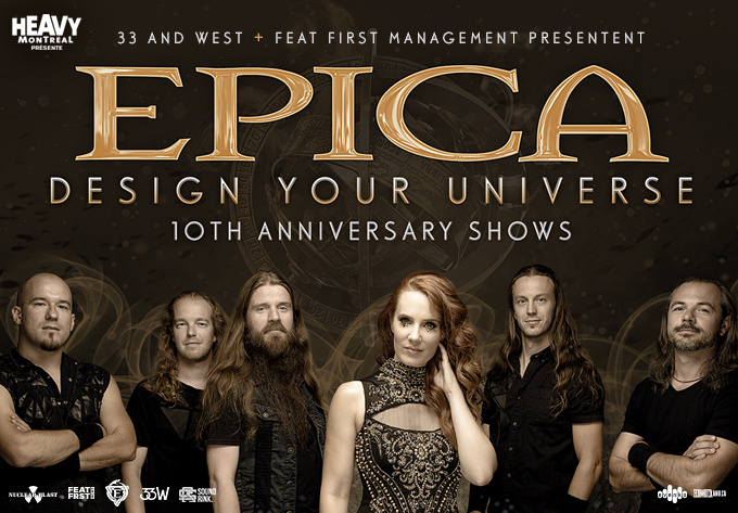 Epica - January  3, 2020, Montreal