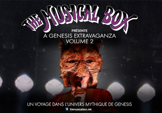 The Musical Box - September 16, 2021, Trois-Rivières