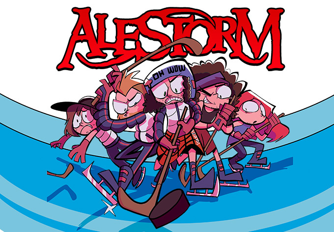Alestorm - November  5, 2019, Montreal