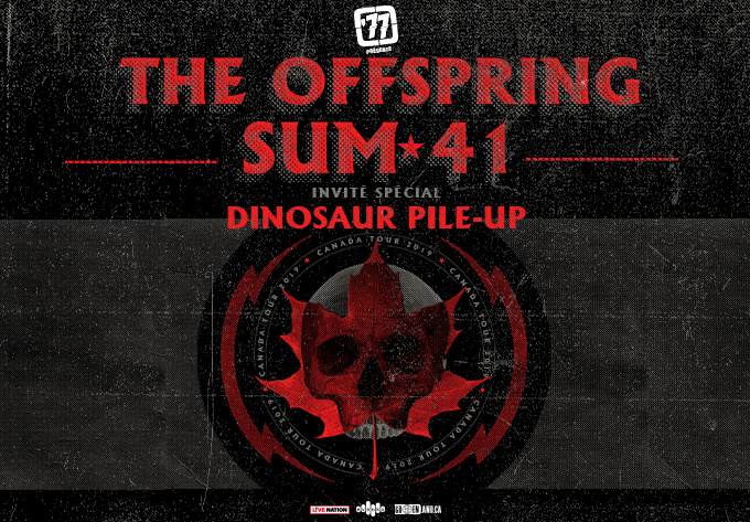 The Offspring + Sum 41 - November 17, 2019, Laval