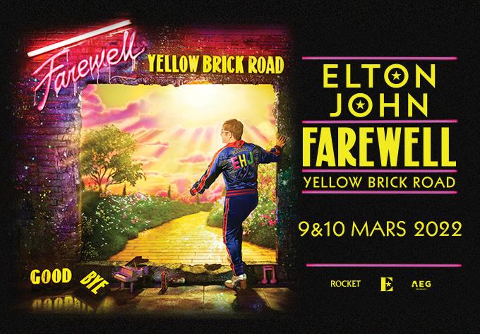 Elton John - February 19, 2022, Montreal