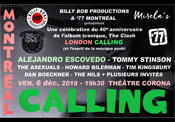 Montreal Calling! - 6 décembre 2019, Montréal