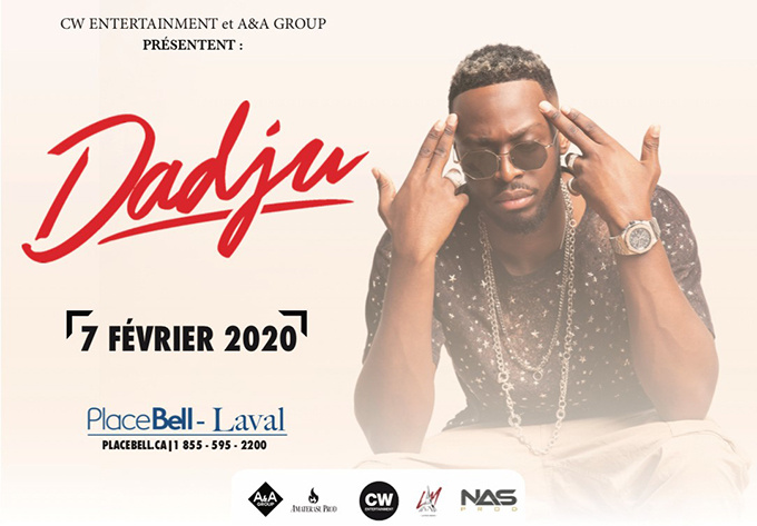 Dadju - 7 février 2020, Laval