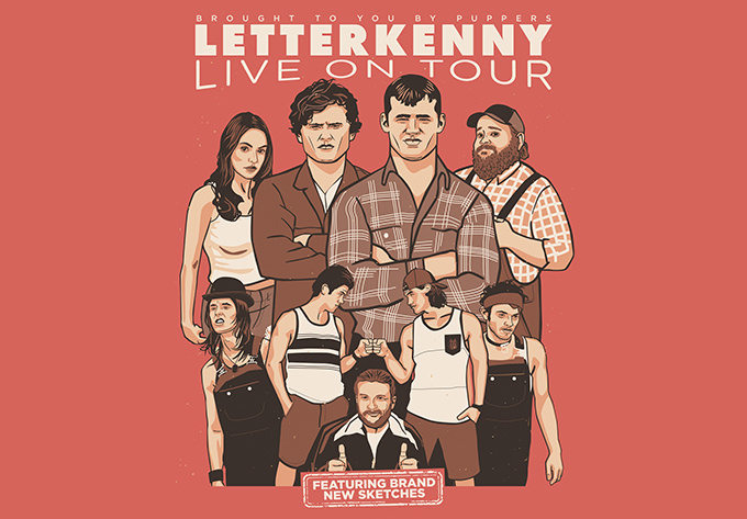 Letterkenny Live! - 28 février 2020, Halifax