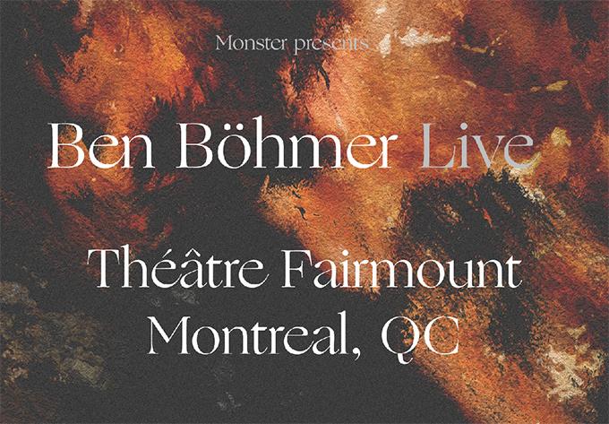 Ben Böhmer - February 29, 2020, Montreal