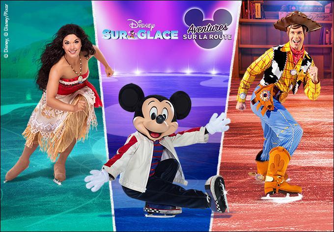 Disney sur glace présente Aventures sur la route - 8 mars 2020, Laval