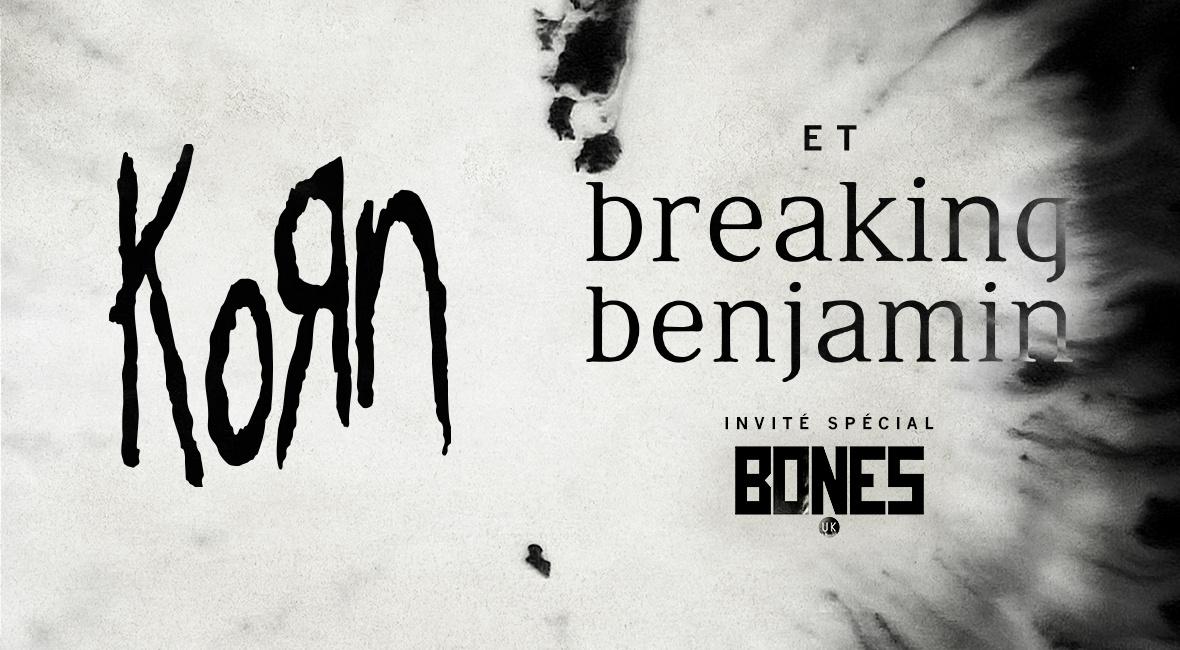 Korn & Breaking Benjamin