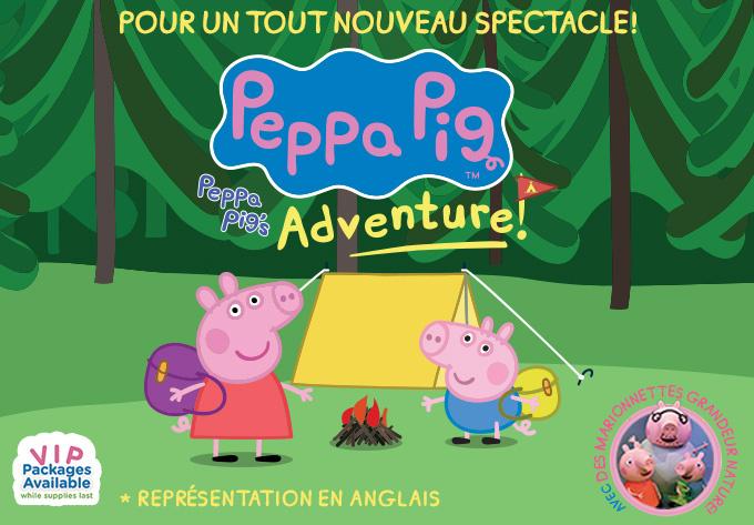 Peppa Pig Live! - Montréal