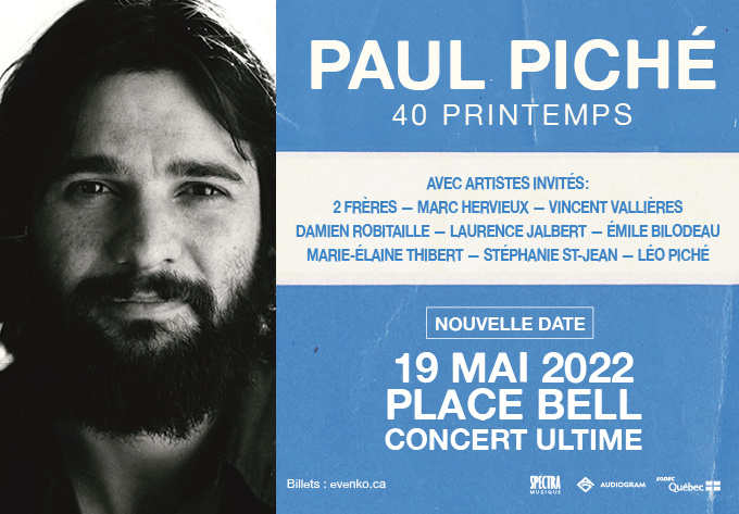 Paul Piché - May 20, 2021, Laval