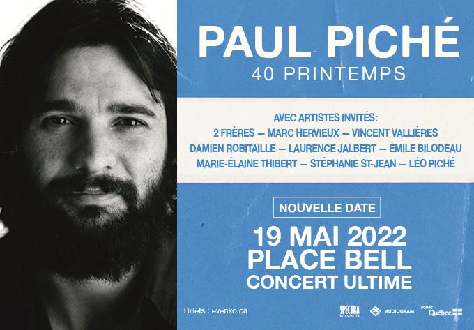 Paul Piché - 19 mai 2022, Laval
