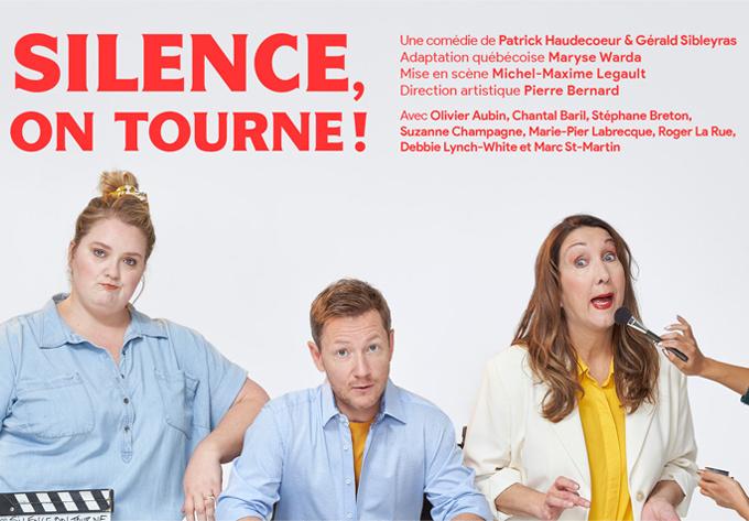 Silence, on tourne! - 28 mars 2022, Québec