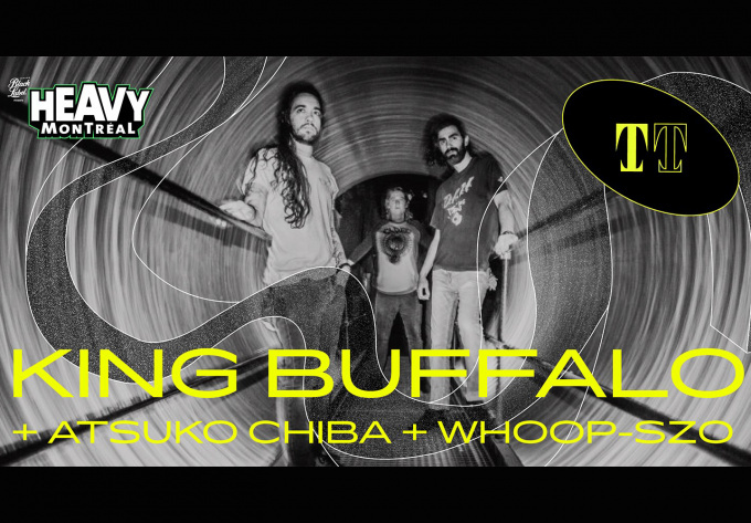 King Buffalo  - January 31, 2020, Montreal