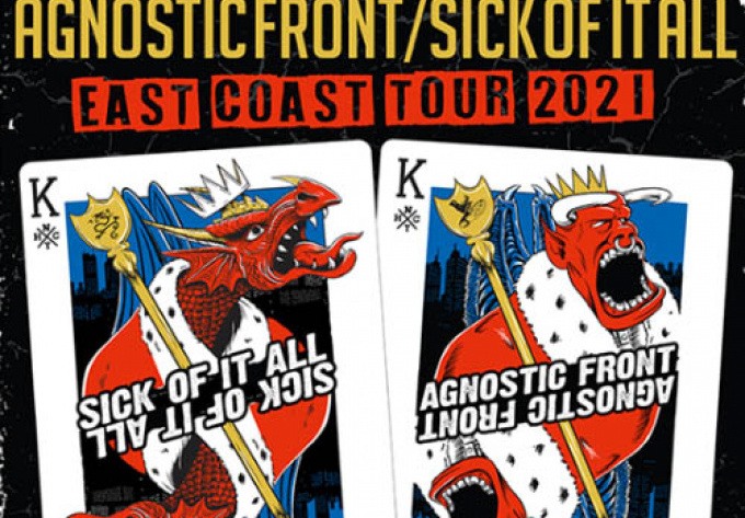 Agnostic Front + Sick of it All - 28 août 2020, Montréal