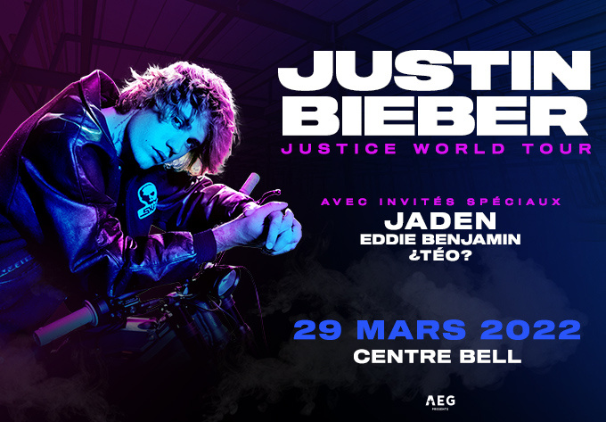 Justin Bieber - March 29, 2022, Montreal