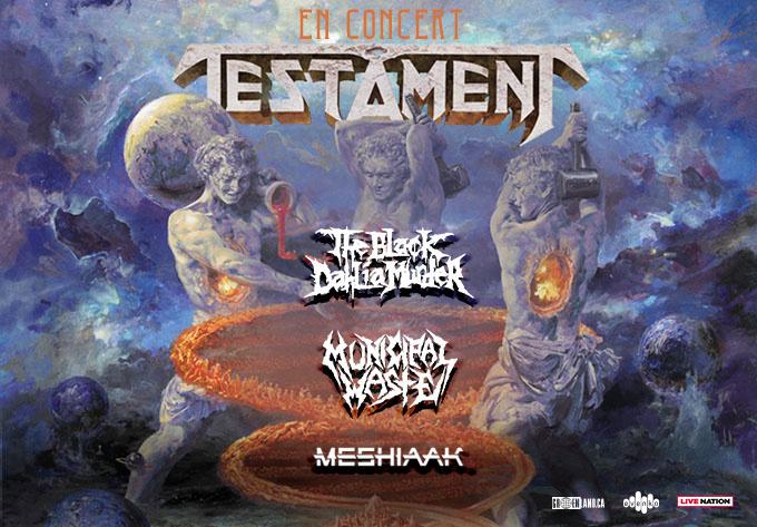 Testament - May 10, 2020, Montreal