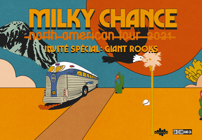 Milky Chance - December  2, 2021, Montreal