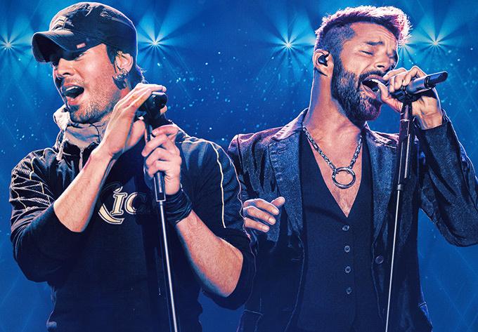 Enrique Iglesias & Ricky Martin - October 10, 2020, Montreal