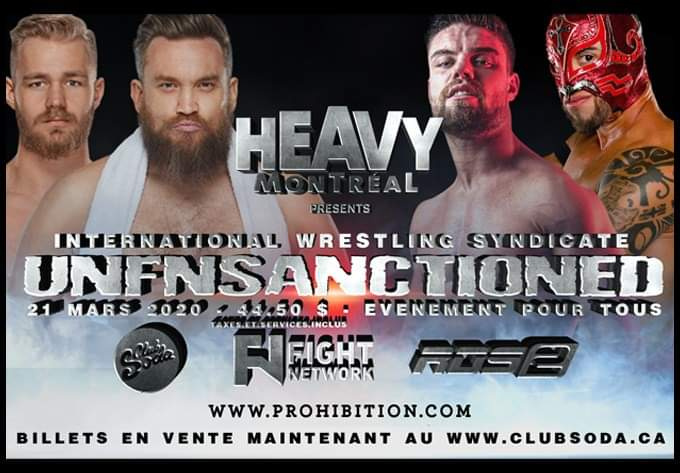 IWS UnFnSanctioned - May 17, 2020, Montreal