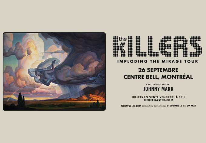 The Killers - September 26, 2020, Montreal