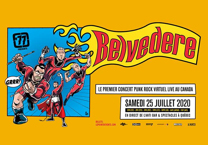 Belvedere - 25 juillet 2020, En Ligne