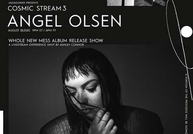 Angel Olsen  - August 28, 2020, Online