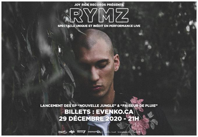 Rymz et invités - 29 décembre 2020, En Ligne