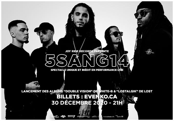5sang14 - 30 décembre 2020, En Ligne