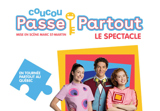 Coucou Passe-Partout, le spectacle ! - 17 avril 2022, St-Georges-de-Beauce