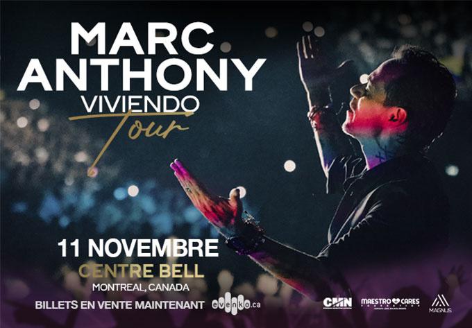 Marc Anthony - 3 décembre 2021, Montréal