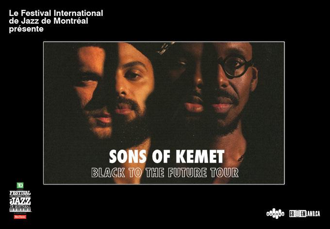 Sons of Kemet - April  1, 2022, Montreal