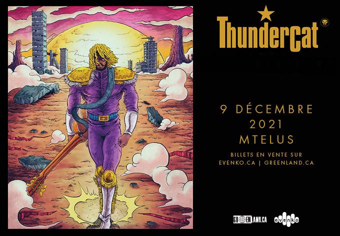 Thundercat - November 10, 2021, Montreal