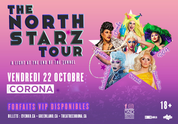 The North Starz Tour - 22 octobre 2021, Montréal